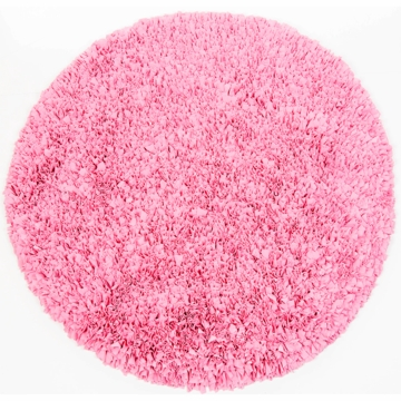 Sweet Potato Round Bubblegum Rug 4x4