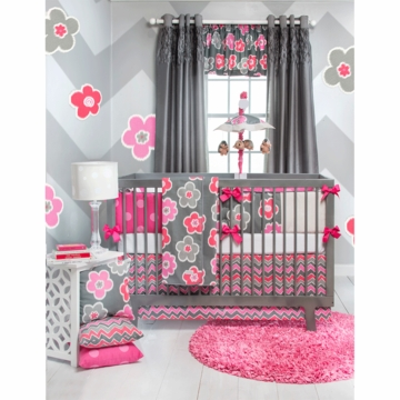 Sweet Potato Addison 4 Piece Crib Set