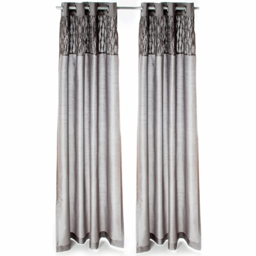 Sweet Potato Addison Drapery Panels in Gray (Set of 2)