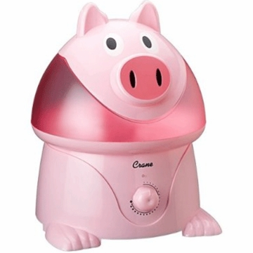 Crane Cool Mist Humidifier - Pig