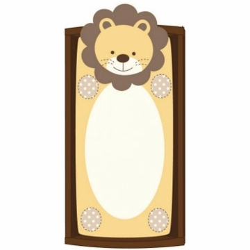 CoCaLo Plush Changing Pad Cover - Lion