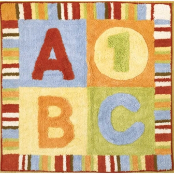 CoCaLo Alphabet Soup Rug