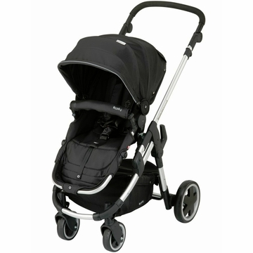 Kiddy Click'n Move 3 Stroller - Racing Black
