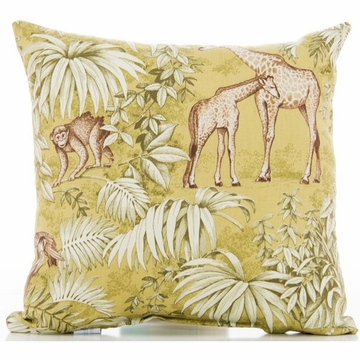 Glenna Jean Cape Town Throw Pillow - Animal Print