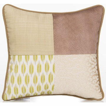 Glenna Jean Cape Town Throw Pillow - Patch