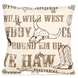Glenna Jean Carson Throw Pillow - Print