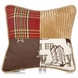 Glenna Jean Carson Throw Pillow - Patch