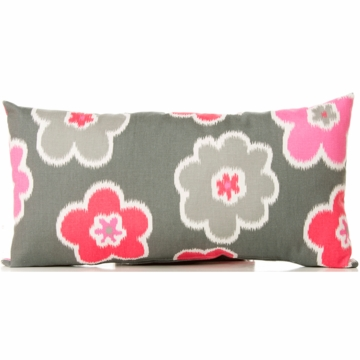 Sweet Potato Addison Throw Pillow in Rectangle Floral