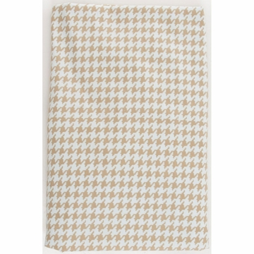 Glenna Jean Central Park Fitted Sheet - Houndstooth