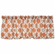 Sweet Potato Echo Window Valance