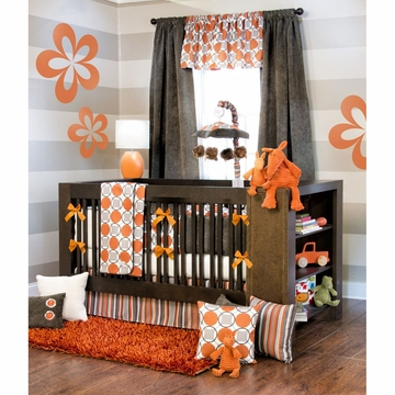 Sweet Potato Echo 4 Piece Crib Set
