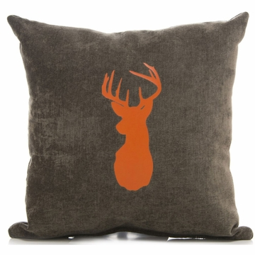 Sweet Potato Echo Brown Buck Pillow