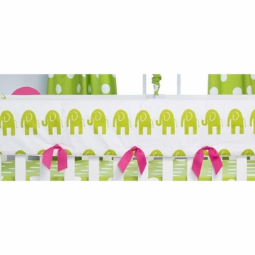 Glenna Jean Ellie & Stretch Convertible Crib Rail Protector - Short