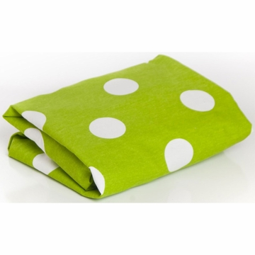 Glenna Jean Ellie & Stretch Fitted Sheet - Green Dot