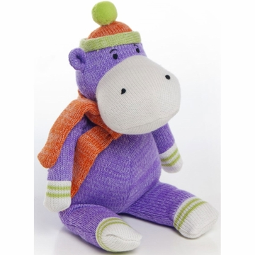 Glenna Jean Plush - Purple Hippo