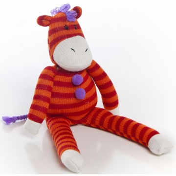 Glenna Jean Plush - Striped Zebra