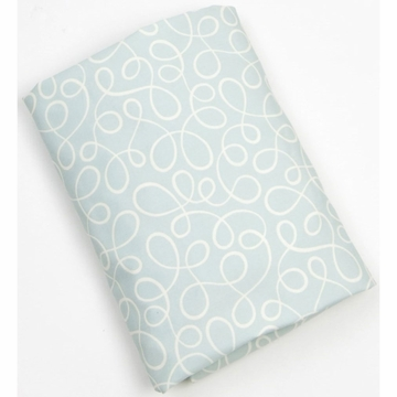 Glenna Jean Finley Fitted Sheet - Blue Swirl