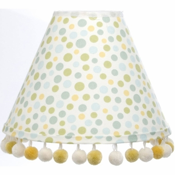 Glenna Jean Finley Lamp - Dot with Pom Poms (Shade Only)