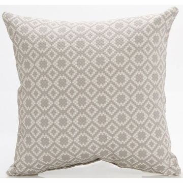 Glenna Jean Grayson Pillow - Light Gray Diamond