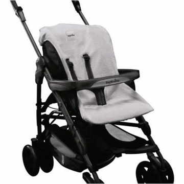 Inglesina 2010 Summer Cover in Light Gray for Zippy Stroller