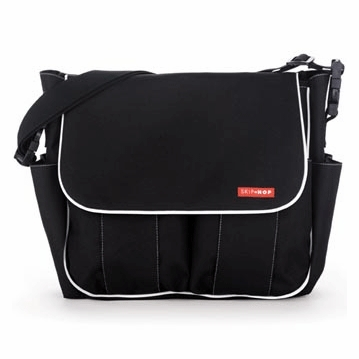 Skip Hop 2007 Dash Diaper Bag in Black