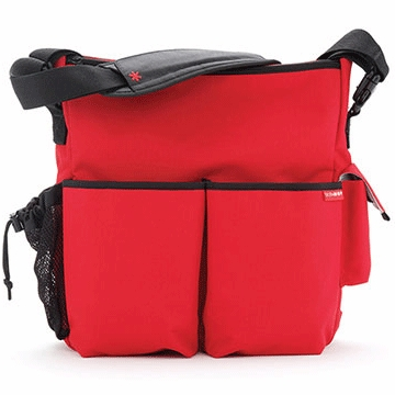 Skip Hop Duo Deluxe Edition in Red
