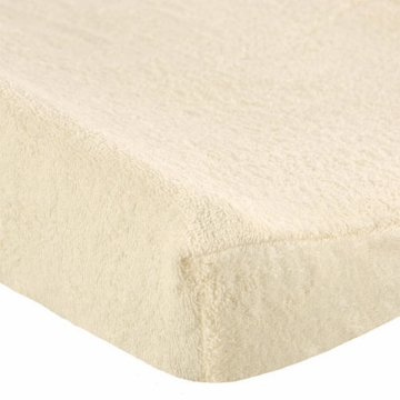 Especially Baby Contour Changing Pad Cover in Ecru