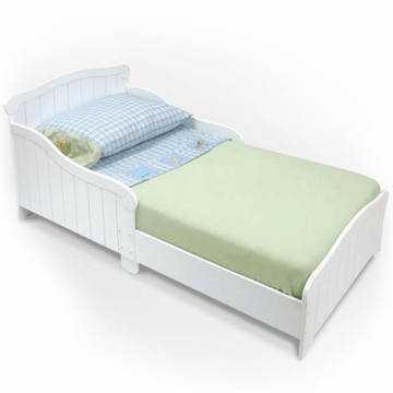 Kidkraft Nantucket Toddler Cot White