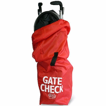 J.L. Childress Airport Gate Check Stroller Bag in Red
