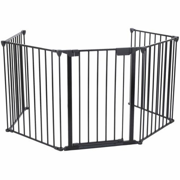 Kidco Hearth Gate 5 section set for hearths to 6' x 2' G70