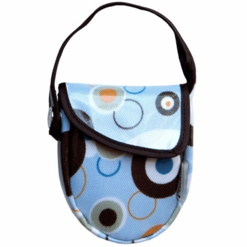 JJ Cole Essentials Pacifier Pod in Blue Bubbles