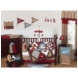 Sweet JoJo Designs All Star Sports 9 Piece Crib Bedding Set