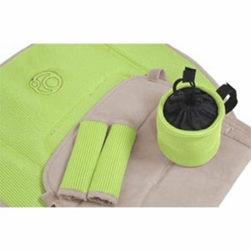 Orbit Baby Toddler Stroller Seat Accessory Pack in Lime/Khaki