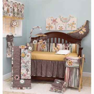 Cotton Tale Designs Penny Lane 4 Piece Crib Bedding Set