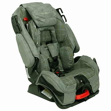 Eddie Bauer Alpha Omega Elite Convertible Car Seat in Mercer