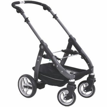 Teutonia T-460 Stroller Chassis with Metro Wheels
