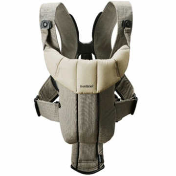 BabyBj�rn Baby Carrier Active Organic Walnut/Khaki