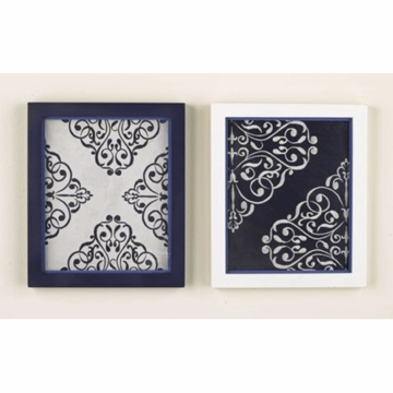 CoCaLo Couture Harper 2 Piece Embroidered Wall Art