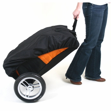 Valco Baby Universal Stroller Roller Travel Bag - Orange/Black