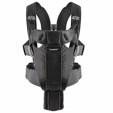 BabyBj�rn Miracle Baby Carrier Mesh - Black Mesh