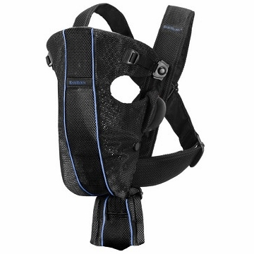 BabyBj�rn Baby Carrier Air in Black / Blue