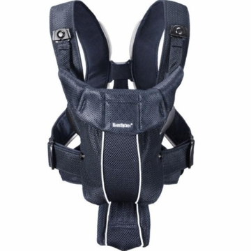 BabyBjorn Baby Carrier Active - Dark Blue, Mesh