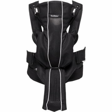 BabyBjorn Baby Carrier Active - Black, Mesh