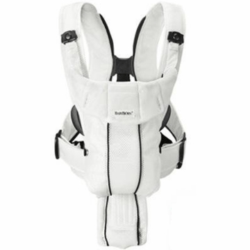 BabyBjorn Baby Carrier Active - White, Mesh