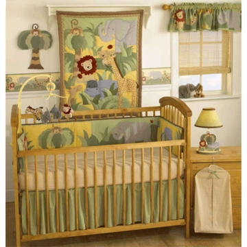 Bedtime Originals Happy Tails 4 Piece Crib Bedding Set