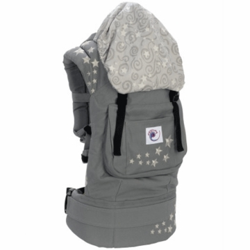 Ergobaby Carrier in Galaxy Grey / Galaxy
