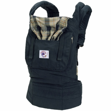 Ergobaby Carrier Organic Highland Navy Plaid