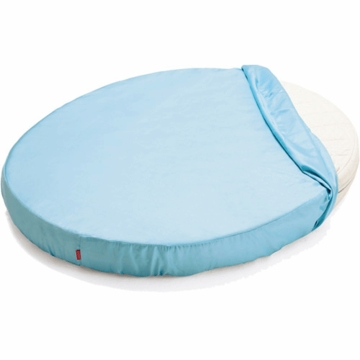 Stokke Sleepi Mini Fitted Sheet in Blue
