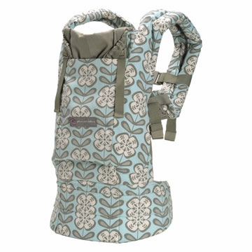Ergobaby Baby Carrier - Organic Petunia Pickle Bottom Peaceful Portofino