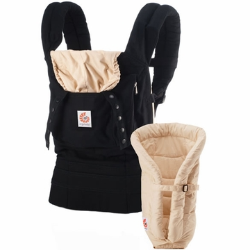 Ergobaby Original Collection Bundle of Joy in Black Camel